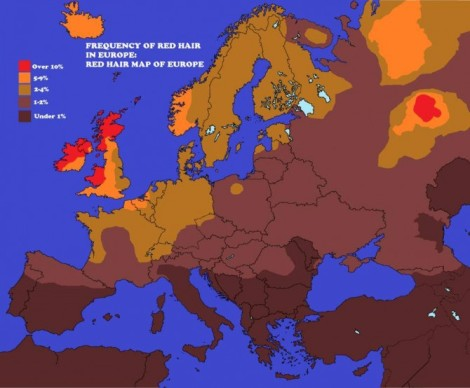 Ginger map of Europe - Imgur